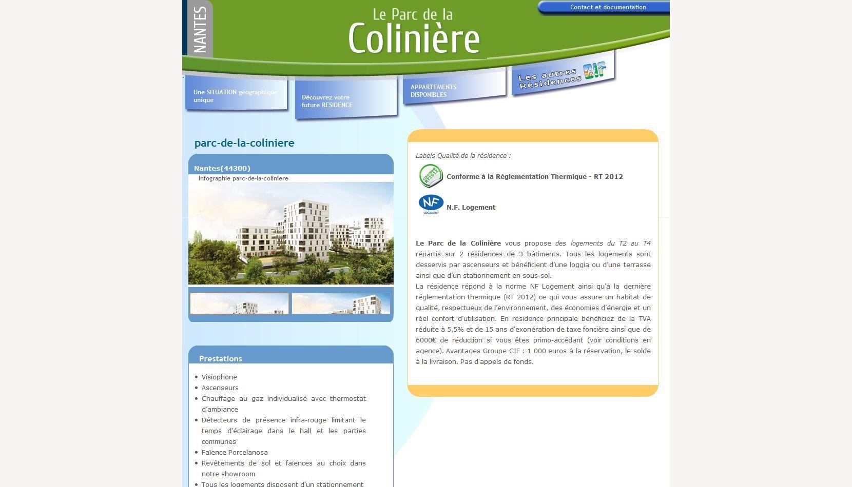 Programme Immobilier CIF