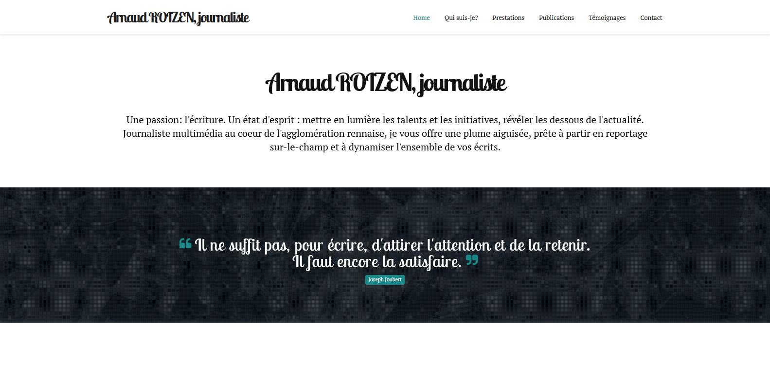 Arnaud ROIZEN